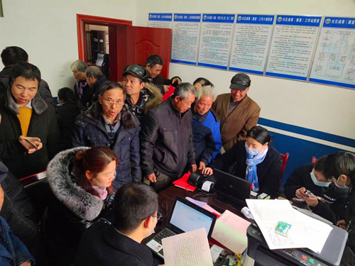 云龙村:村民喜领农村集体经济组织股权证