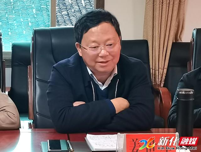 姜世星主持召开白溪豆腐产业园建设座谈会