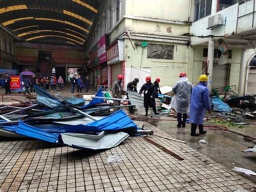 澧县集中拆违清除火灾隐患—— 珍珠市场800多商户放心了